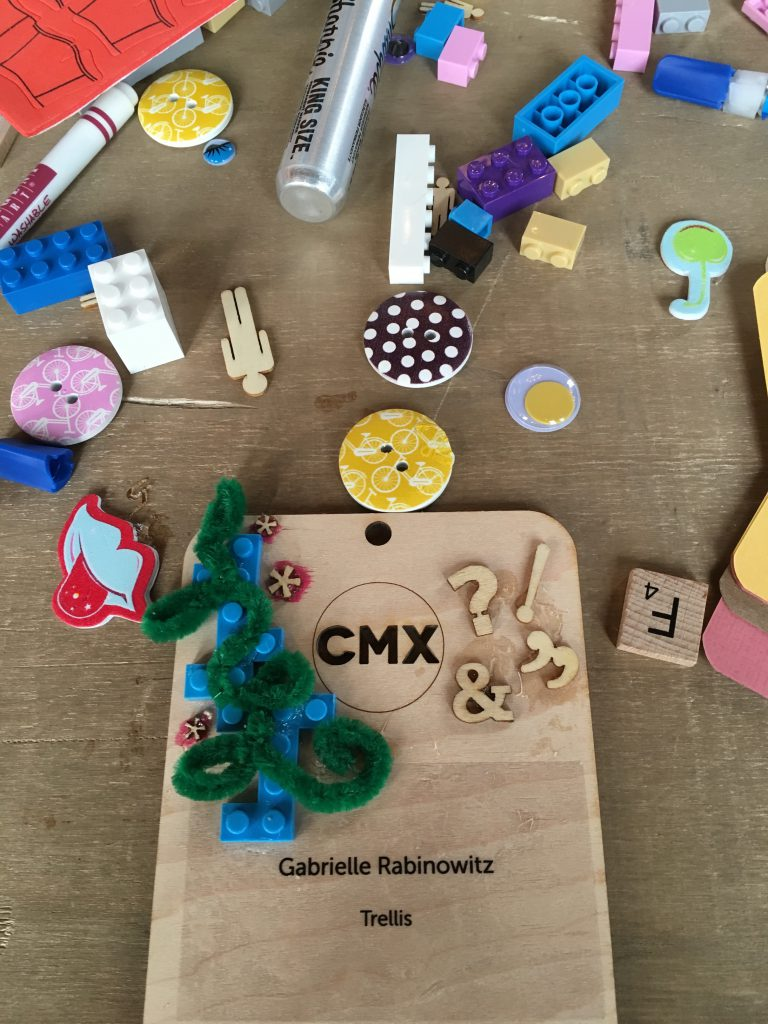 Gabrielle Rabinowitz Badge CMX Summit 2016