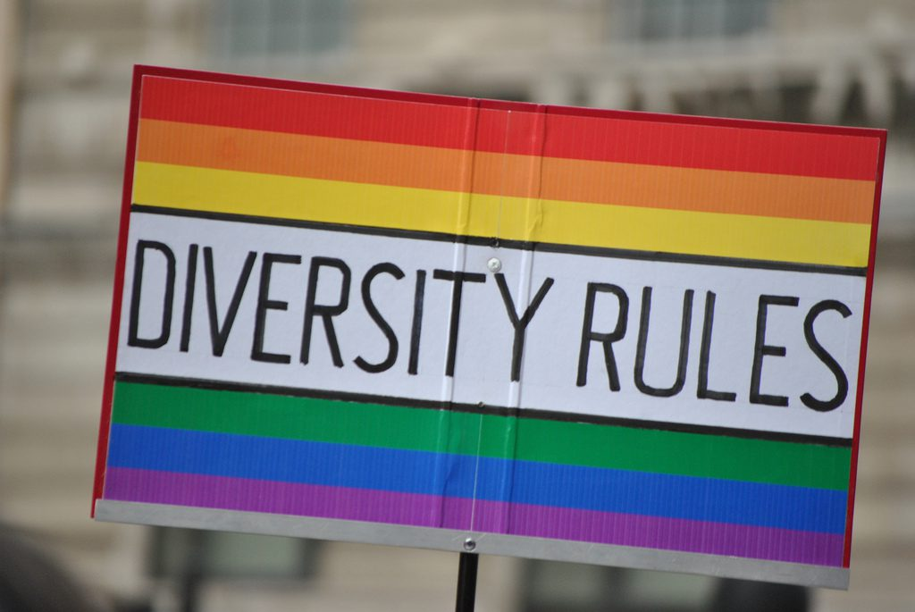 How clear our your diversity, equity and inclusion values? Image credit: https://www.flickr.com/photos/ekcragg/5896894236/