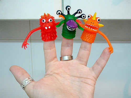Stress monsters can take many different forms. How can you help to regain control? Image credit: https://www.flickr.com/photos/soft/415401088/